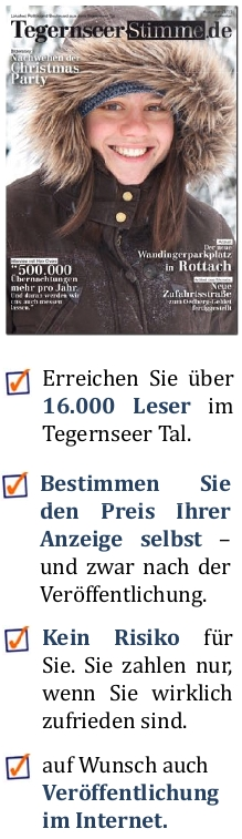 Tegernseer Stimme mit Printmagazin